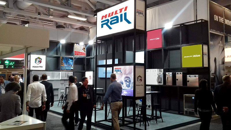 MULTIRAIL stand at INNOTRANS 2018 trade fair