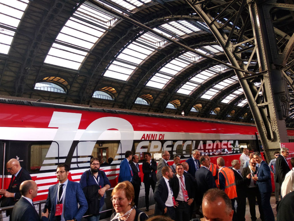 10 years of high speed in Italy Milano Stazione Centrale