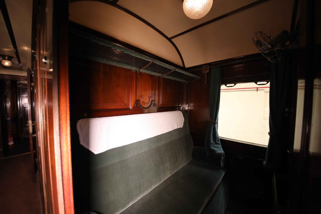 treno presidenziale scompartimento
