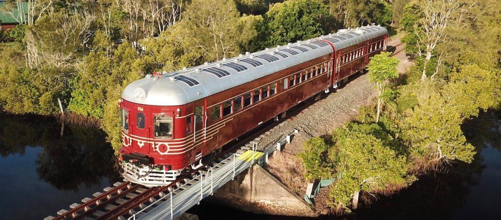 Byron Bay Solar Energy Train