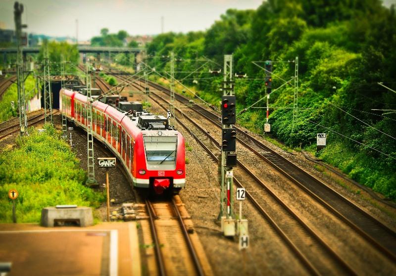 UK solar energy train photovoltaic railstock