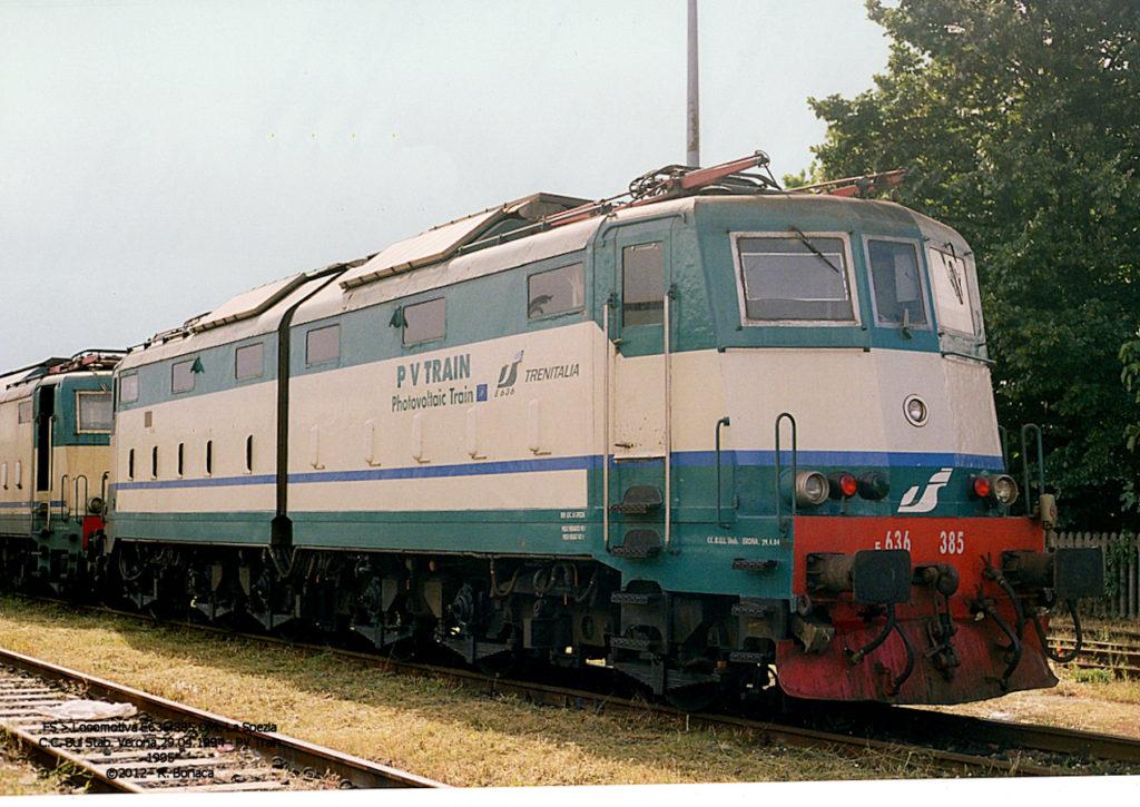 Pvtrain train photovoltaic solar energy railstock