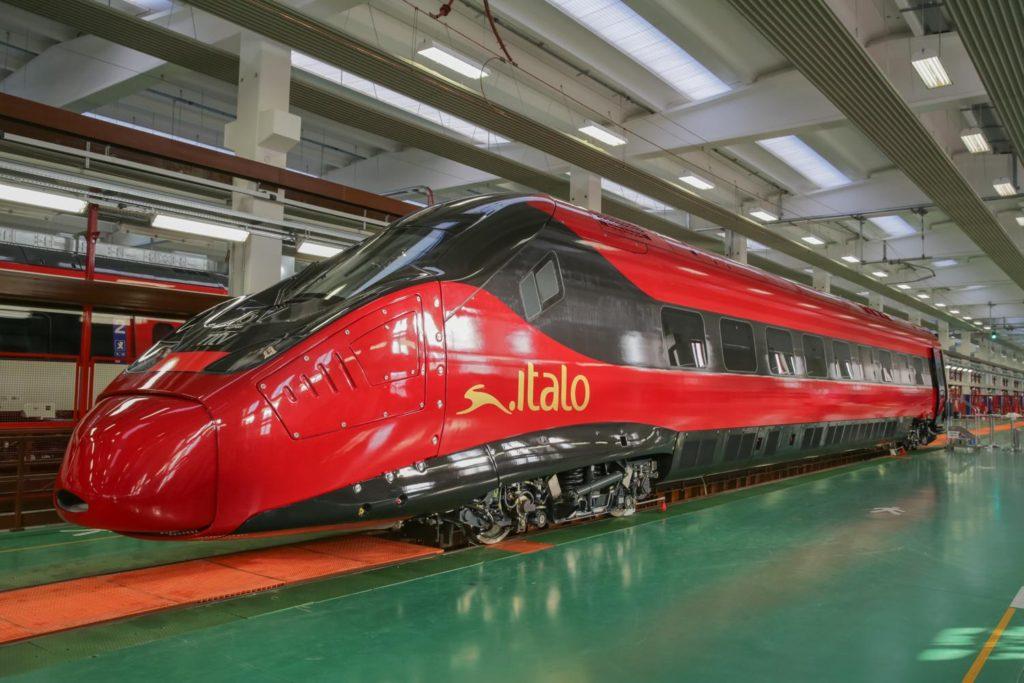 Italo train Evo