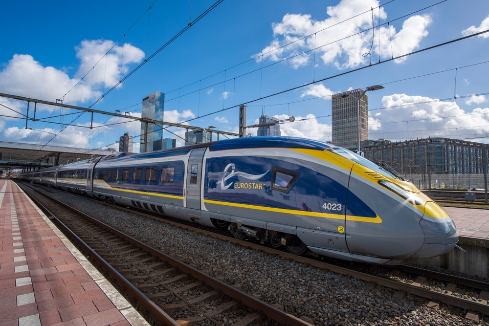 Eurostar train sustainability