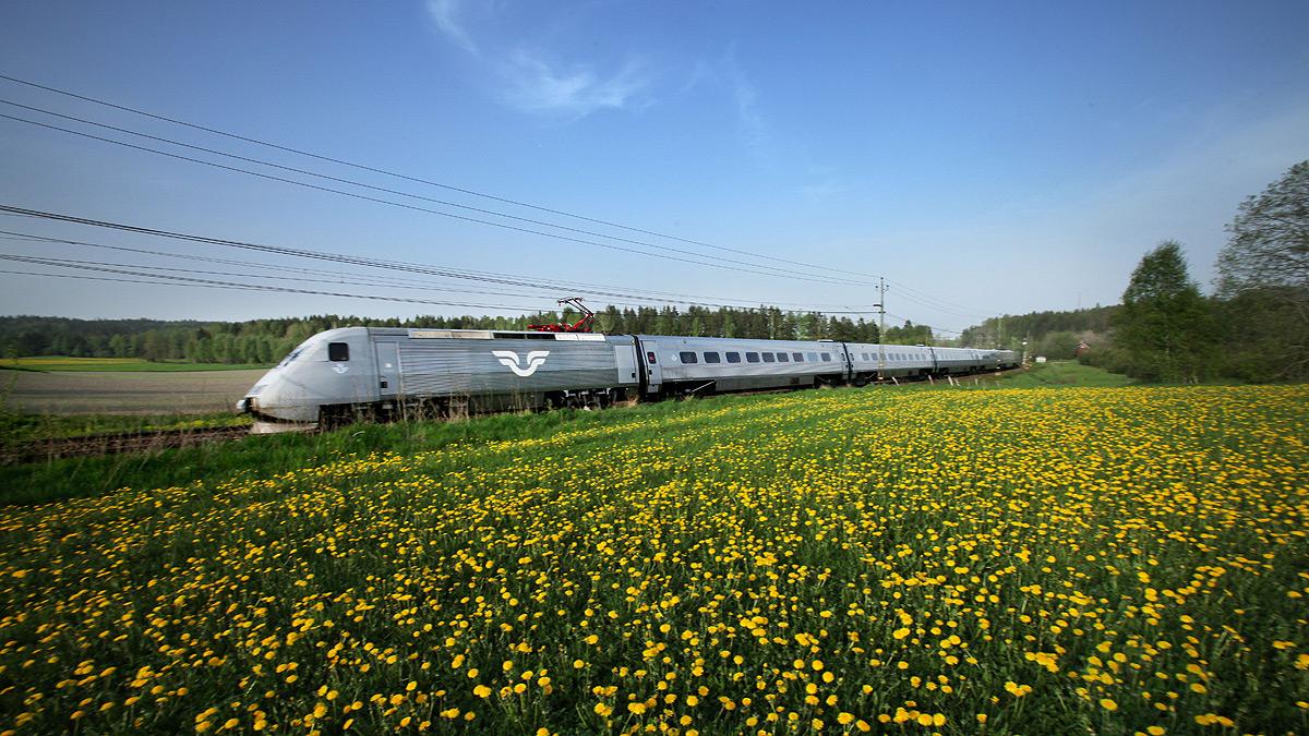 treno X2000 delle ferrovie Svedesi