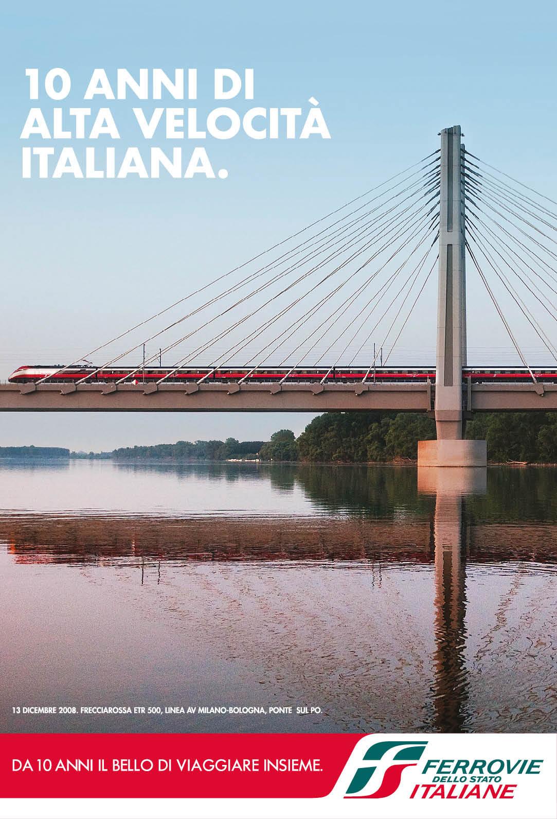 freccia rossa 10 anni di alta velocità italiana