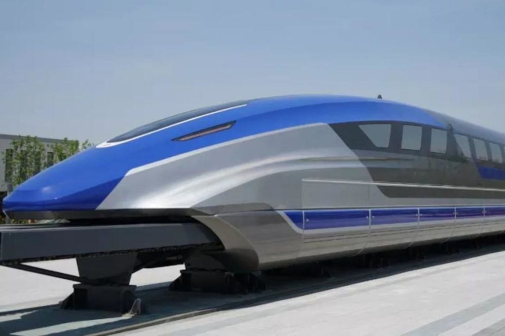 600 kmh Chinese levitation prototype train