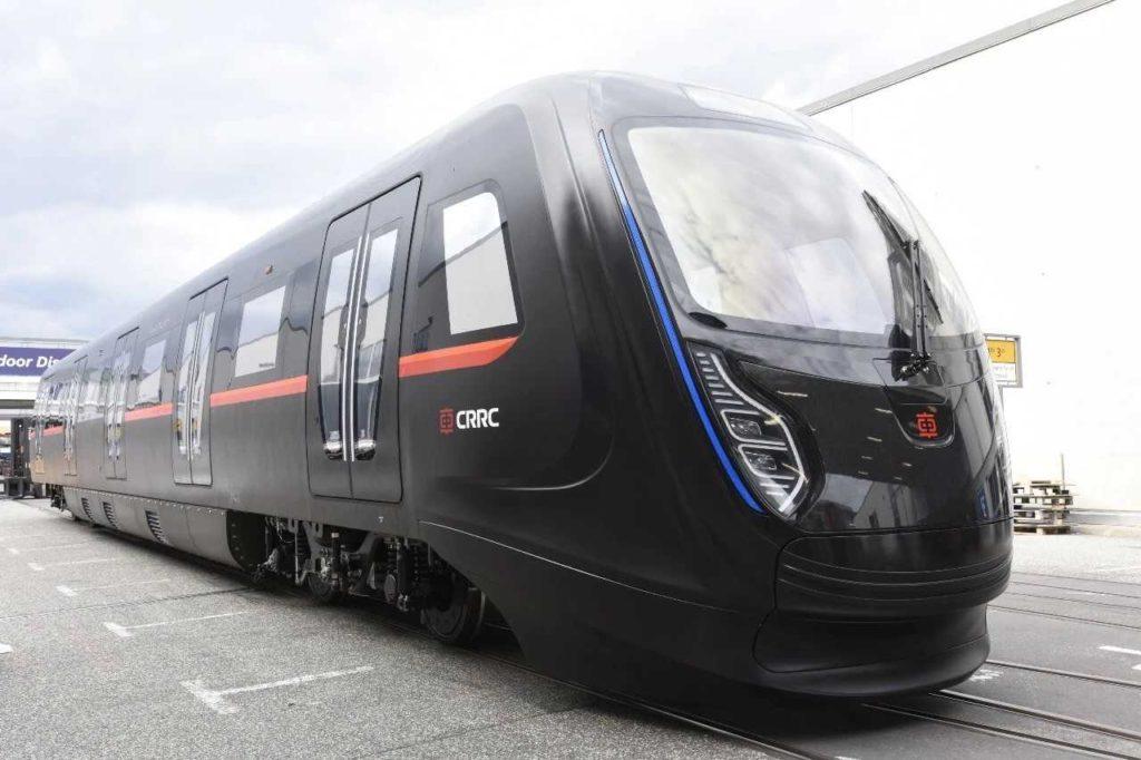 carbon fiber train CRRC
