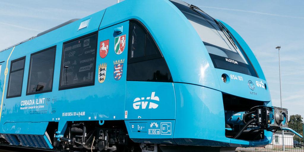 hydrail hydrogen train