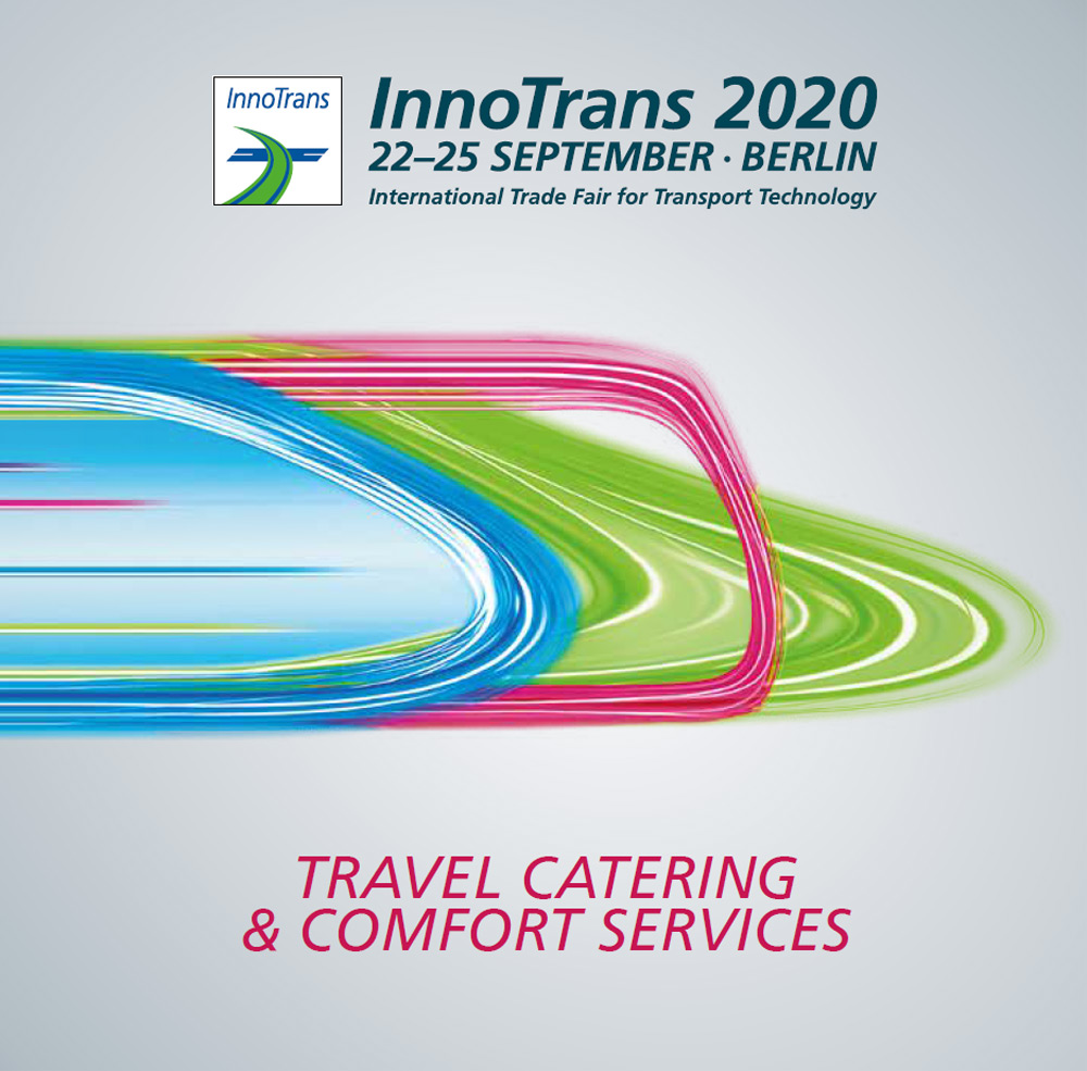 Travel Catering & Comfort Services (TCCS) at InnoTrans 2020 trade fair