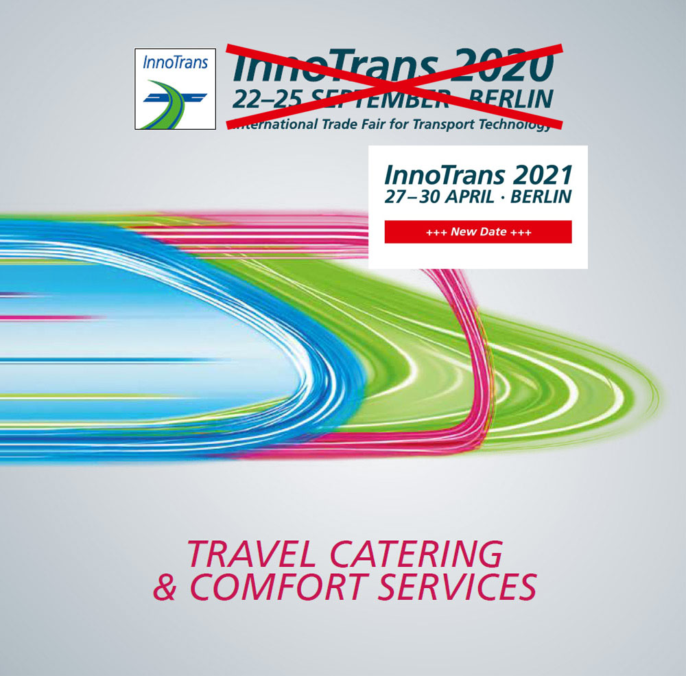 Travel Catering & Comfort Services (TCCS) at InnoTrans 2021 trade fair